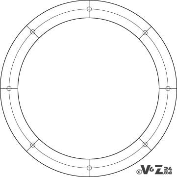 the template I used for Round Shield Template